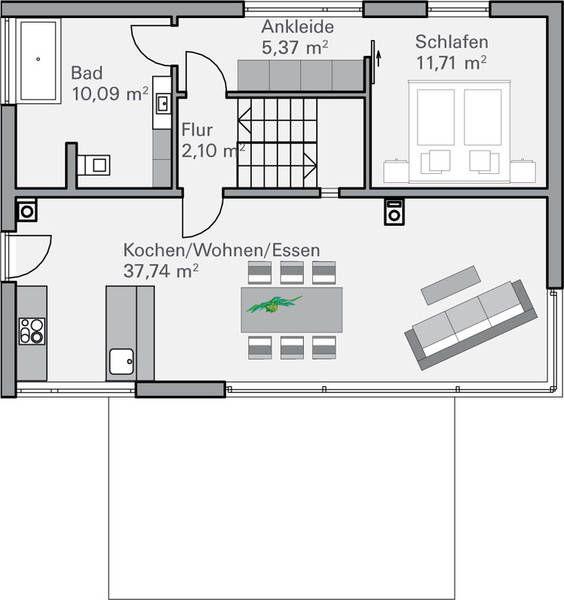 die besten 25 einliegerwohnung pl ne ideen auf pinterest kleine hauspflanzen. Black Bedroom Furniture Sets. Home Design Ideas