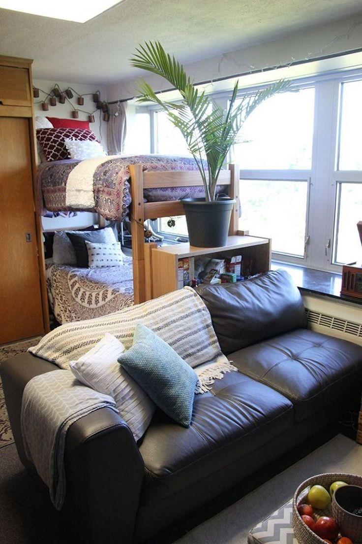 86 dorm room designs college 9 in 2020  dorm room designs