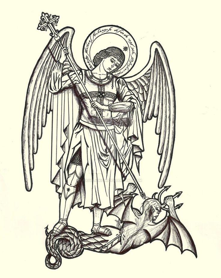 St. Michael by raivilaikoni