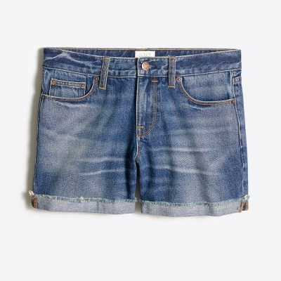 j.crew factory denim shorts - I just went to J. Crew Factory and tried on a bunch of my new favorite things! The best part? Almost everything is UNDER $100! I've got a 20% off coupon code for you too! Right now, on the blog!