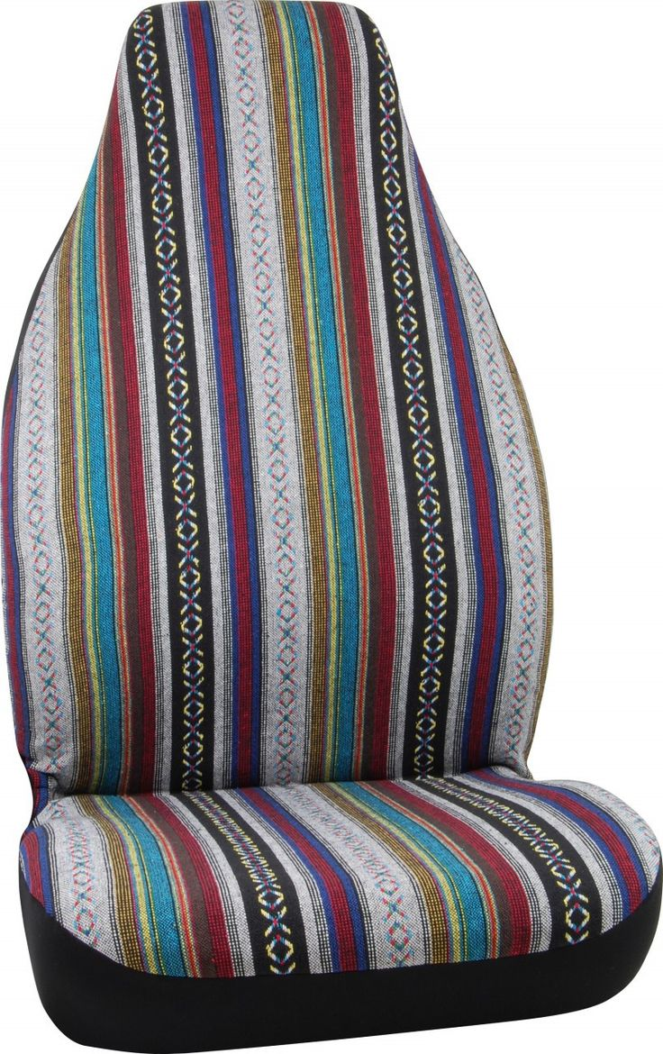 Baja Mexican Blanket Auto Front Seat Cover Car Accessory Bucket Seat Covers Baja Blankets Cool Car Accessories