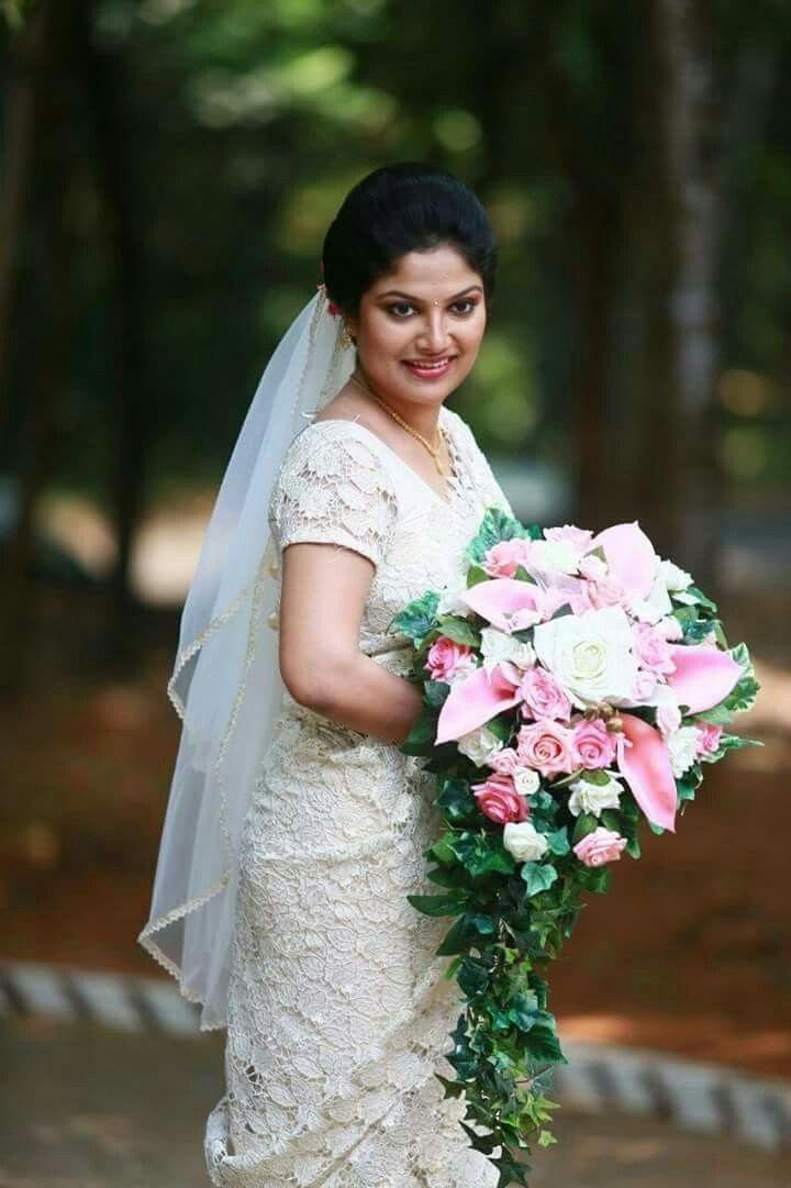 Christian Bridal Hairstyle Kerala - Kecemasan h
