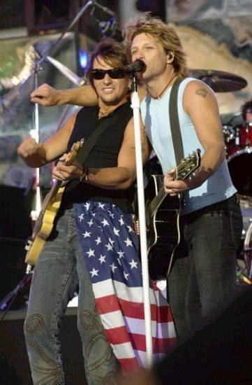 Bon Jovi & Richie Sambora - seriously...so hot I'm melting!