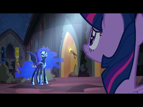 """MLP: FiM - Celestia Destierra a Nightmare Moon """"La Princesa Twilight Sparkle"""" [Español Latino] - YouTube"""