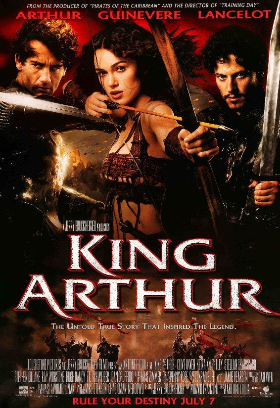 King Arthur (2004) Original One Sheet Movie Poster