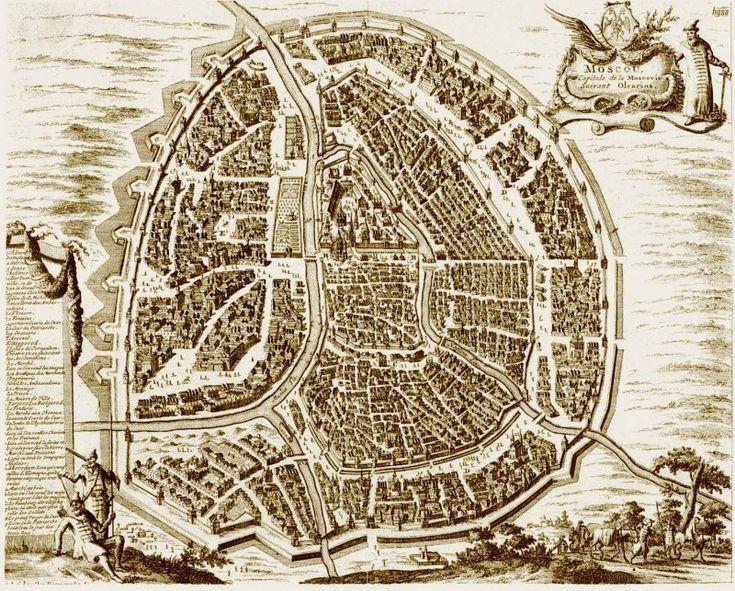 Москва, 17 век. Думаю внутри кольца в то время архитектура была гораздо масшабней Турина и Парижа.