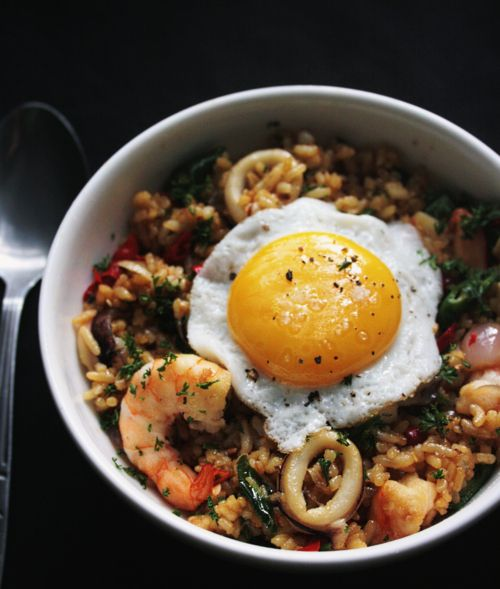 Making Nasi Goreng / Indonesian Fried Rice - Notions & Notations of a Novice Cook