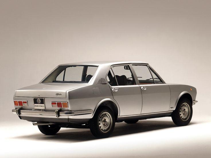 1972-1987 ALFA ROMEO ALFETTA BERLINA (Tipo 116)