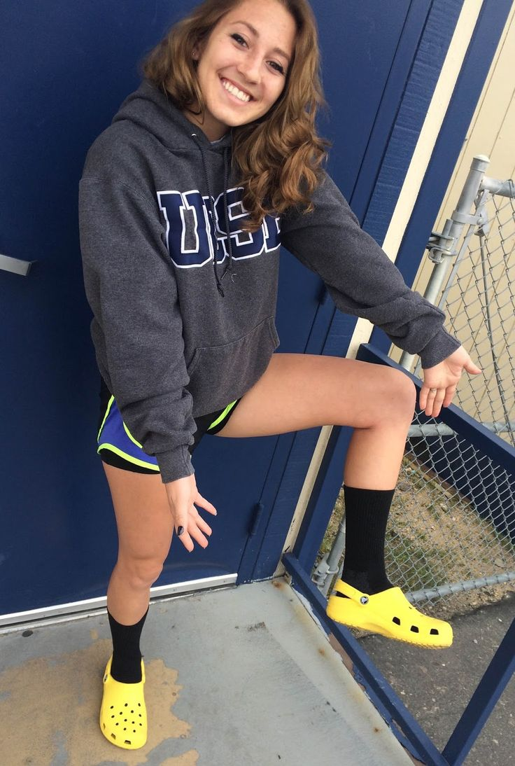 crocs outfit cute - Google Search