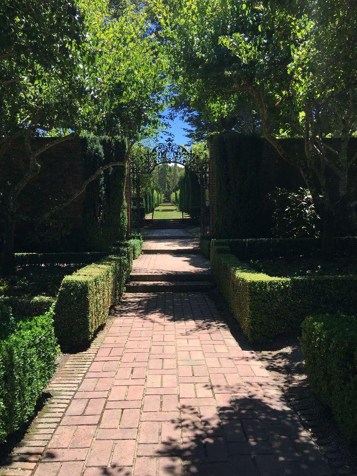 Filoli Gardens Woodside, CA Garden, Reap what you sow