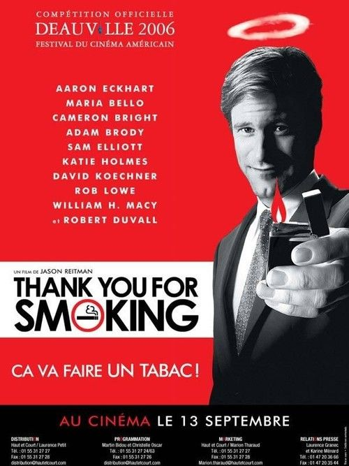 Watch Thank You for Smoking Full Movie Online