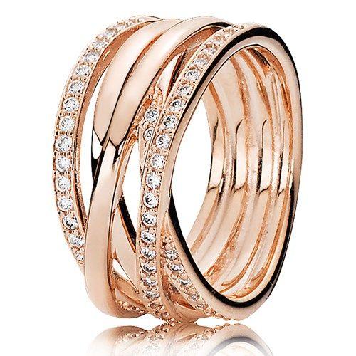 pandora anello corona oro
