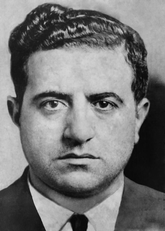 Albert Anastasia (1902-1957), was boss of Murder Inc. with Louis 'Lepke' Buchalter, which executed over 400 on orders from the National Crime Syndicate of the Five Families of the New York Mafia in the 1930-1940s. Later he was boss of the Gambino Crime Family, from 1951 until his murder in 1975.