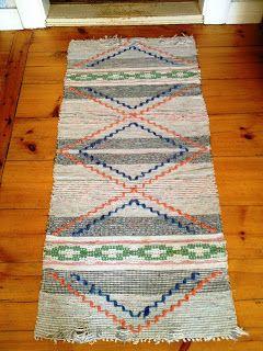 VÄVSKÄLET - really like this unusual rug!