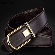 FREE Shipping Worldwide|    Cutting edge arriving HooltPrinc Top Man Belts Luxury High Quality Cow Genuine Leather Belts For Men Smooth Buckle Business Wedding Waist Male Kemer now available $US $19.65 with free delivery  you could find this unique piece and also even more at our favorite web site      Purchase it today the following…