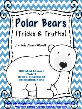 Polar Bear Tricks & Truths (Facts about Polar Bears) Repinned by SOS Inc. Resources pinterest.com/sostherapy/.