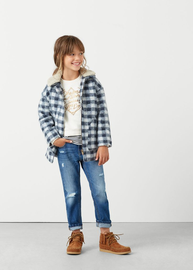 Ordinaire Mango Kids Madrid #2: Boyfriend-fit Jeans
