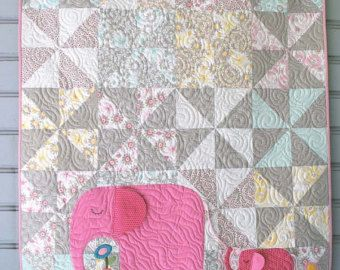 E is voor olifant Quilt patroon