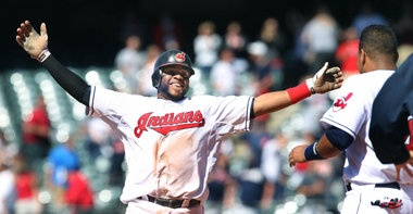 Break out the brooms. That's two sweeps in a row for the Indians! Carlos Santana singles home the winning run in the bottom of the 11th as the Tribe sweeps Seattle. Wahoo!