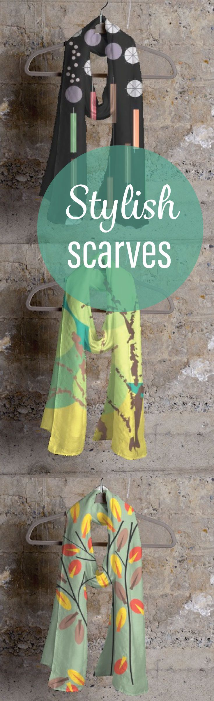 Complete your style with gorgeous scarves. Order online to accessorize your wardrobe or to give an awesome gift. Click the photo to explore my signature collection.