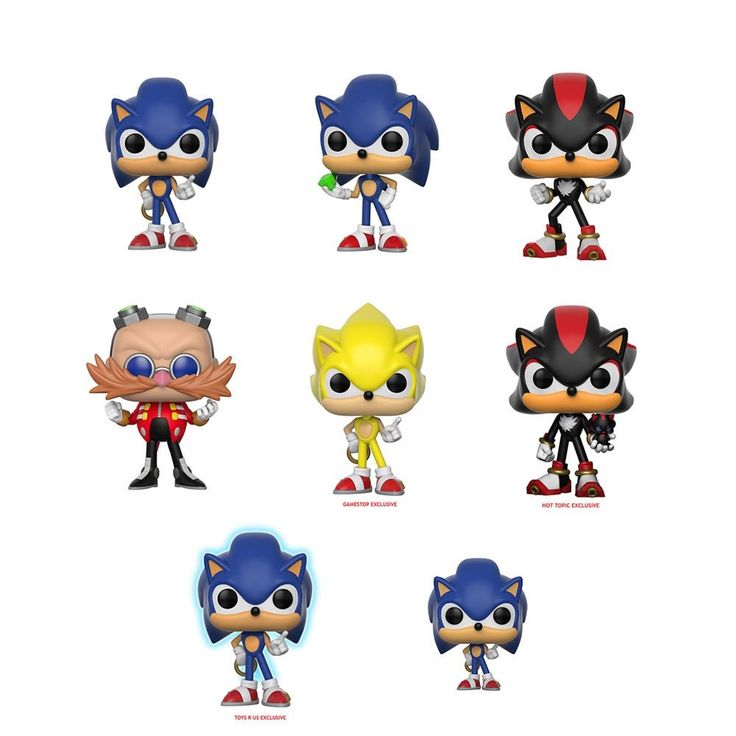Coming Soon: Sonic Pop!s  Sonic the Hedgehog is the fastest thing alive!  Running faster than the speed of sound.  What is even more exciting?  Sonic is coming to Pop! Keychains and Pop! vinyl.