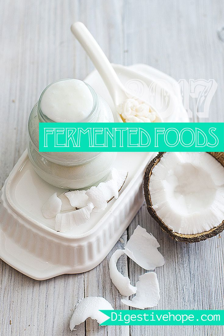 2017 Guide to making fermented foods digestivehope.com Coconut Milk Kefir