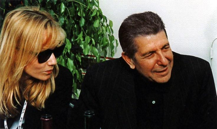 Rebecca de Mornay and Leonard