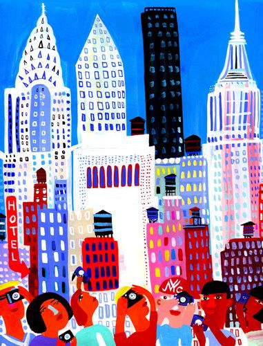 I Love NYC - Christopher Corr Prints - Easyart.com