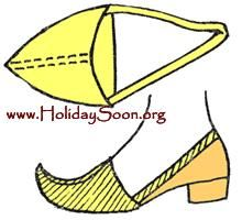 Выкройка обувь волшебника