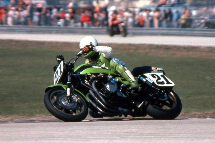 Eddie Lawson at DAYTONA 1981
