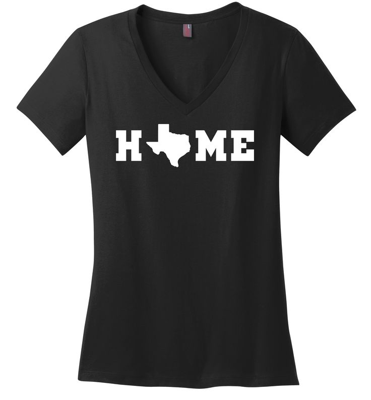 Home Texas Map Lonestar State Shirt Ladies V-neck Tee: Home Texas Map Lonestar State Shirt 4.3-ounce 100%… #WomensClothing #LadiesClothes
