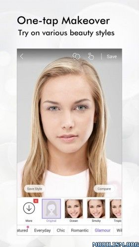 Perfect365: One-Tap Makeover v6.27.17 [Unlocked]Requirements: 4.0.3 and upOverview: The best FREE virtual makeup app, period. It's like having a glam squad in your pocket!  ★ More than 80 million users and counting★ As seen in The Today Show, ABC...