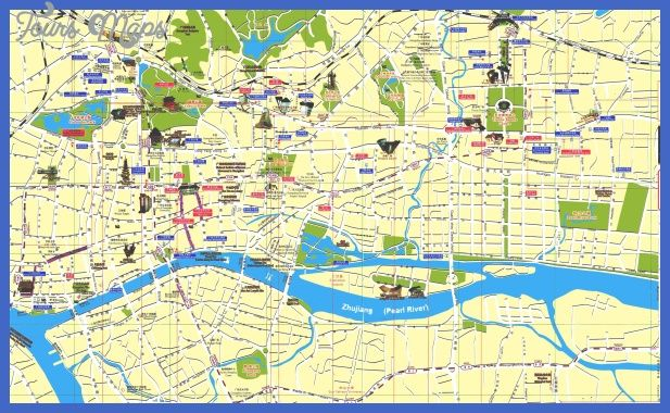 nice Tianjin Map Tourist Attractions