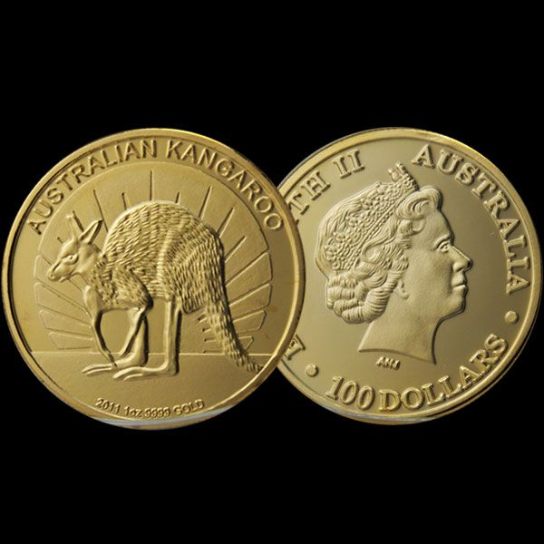 Australian Kangaroo Elizabeth coin(No.1 in the catalogue)