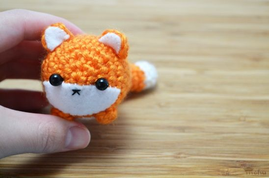 Orange fox amigurumi by mohu | Project | Crochet / Decorative | Kollabora
