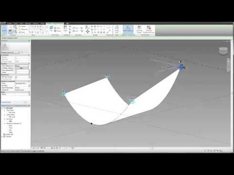 Revit Tutorial - Adaptive Fabric Roof Canopy Introduction | TheRevitKid.com! - Tutorials, Tips, Products, and Information on all things Revit / BIM