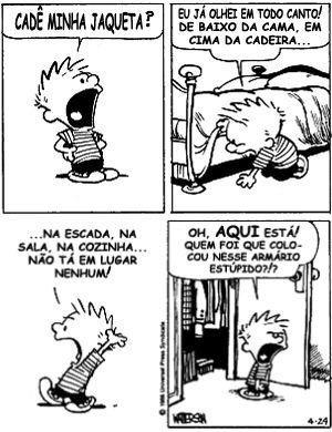 Calvin e Haroldo.