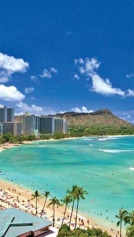 Waikiki Beach, Oahu, Hawaii Compare the cheapest flights: http://www.studentrate.com/School/Deals/Travel.aspx