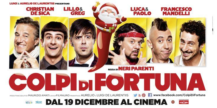 Il poster orizzontale del film COLPI DI FORTUNA!