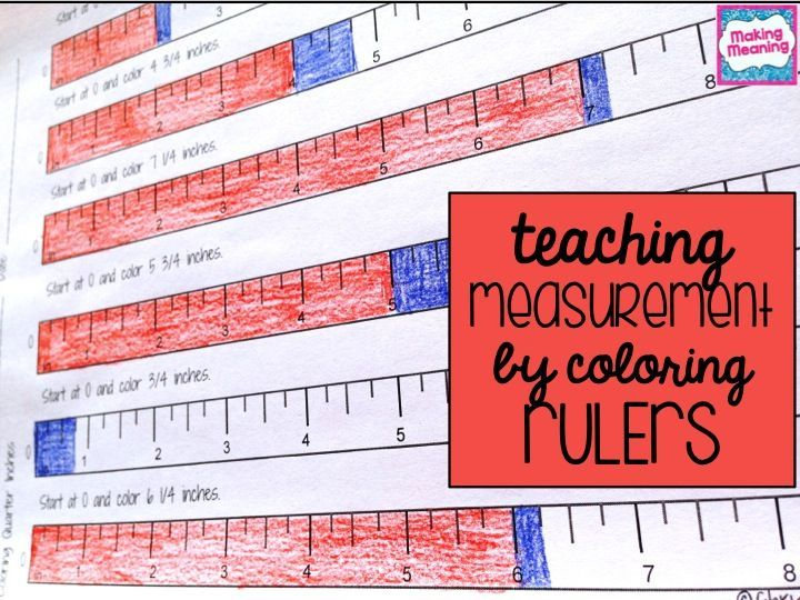 Why kids struggle with measuring inches (and how coloring rulers can help): 1. Measuring in inches requires a different way of thinking about fractions. The most common way for kids to think about …