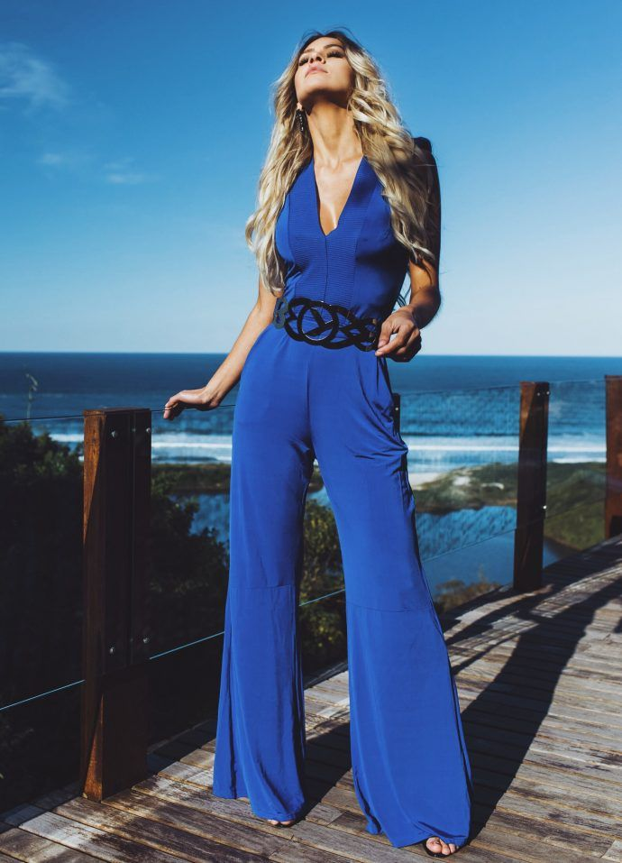 Deep Blue – Macacão Feminino Moikana | Blog de Moda e Look do dia - Decor e…