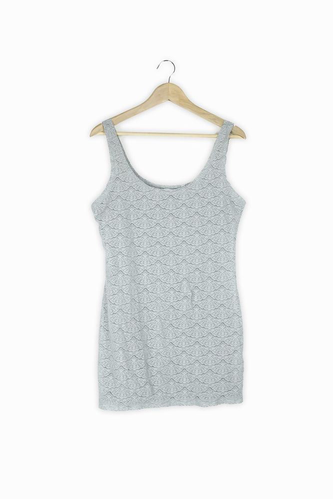 994703405770f9 New Look grey lace look vest top Size 16  fashion  clothing  shoes   accessories  womensclothing  tops (ebay link)