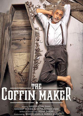 First Look of Naseeruddin Shah's movie The Coffin Maker!
