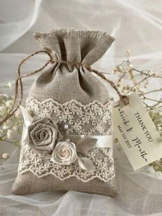 White Wedding Favor Candy Box with purple ribbon by sweetywedding, $1.99 |  Camille's Wedding | Pinterest | Favor boxes, Wedding and By