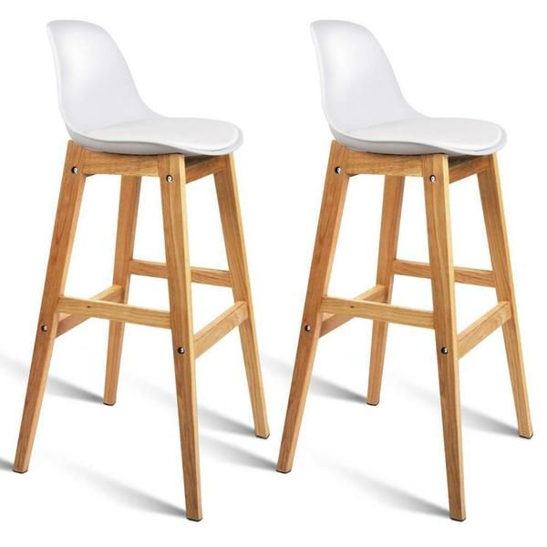 Jacob Bar Stool Set Of 2 White Bar Stools Buy Bar Stools Stool