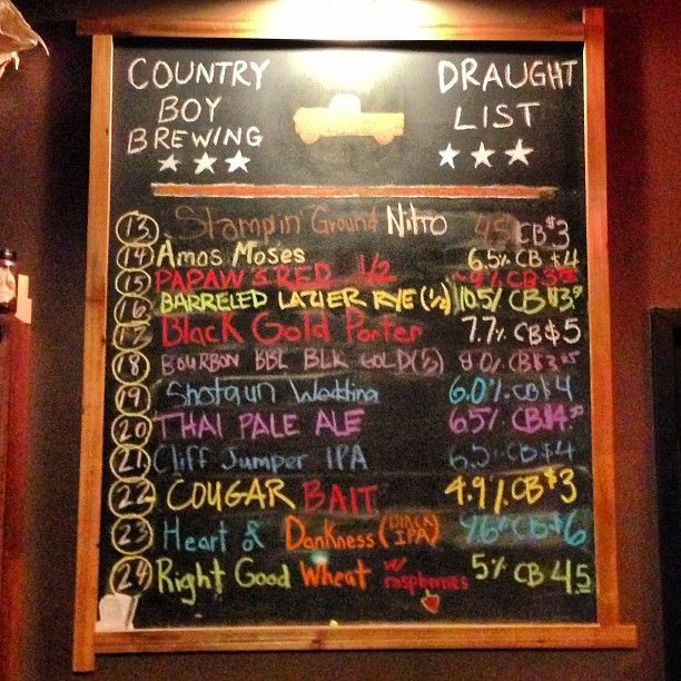 Country Boy Brewing in Lexington, KY