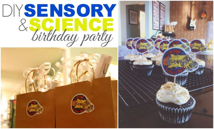 A selection of DIY ideas for a toddler birthday party for budding scientists and sensory geeks, only on Babble!