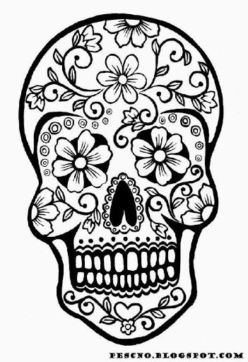 Skull Coloring Pages | Free Coloring Pages