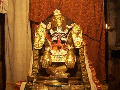 Yoga Narasimha Temple (1122 A.D), Santigrama, Hassana Taluk Hassan District.