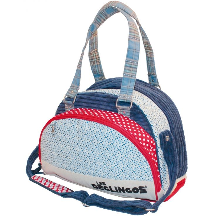 Ce sac à langer Hippipos sous licence Les Déglingos de Babycalin permet de transporter tout le nécessaire de change du bébé.